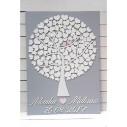 Drzewko szczęścia 120 serc...
