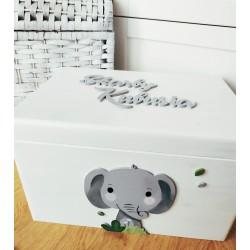 Pudełko słoń na skarby dziecka