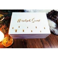 Świąteczne pudełko - las