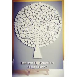 Drzewko szczęścia 140 serc...