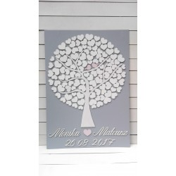 Drzewko szczęścia 100 serc...