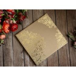 Księga gości 22 kartki Złoty