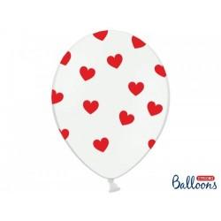 Balony 30cm, Serduszka...