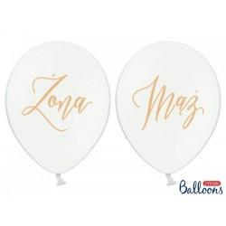 Balony 30cm, Żona, Mąż,...