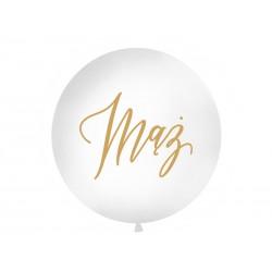 Balon olbrzym 1 m - mąż złoty