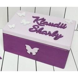 Pudełko dla dziecka motyle...