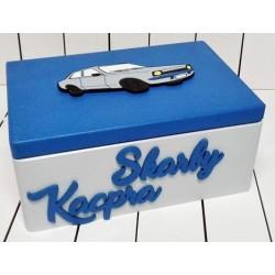 Pudełko dla dziecka samochód